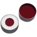 11mm Verschluss  Magnetische Bördelkappe, silber lackiert, mi