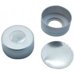 11mm TPF Verschluß  Aluminum Bördelkappe, farblos lackiert, m