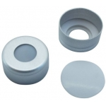 11mm Verschluß  Aluminum Bördelkappe, farblos lackiert, mit L