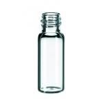 1,5ml Gewindeflasche ND8, 32x11,6mm, Klarglas, 1.hydrol.Klasse