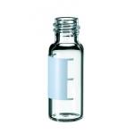 1,5ml Gewindeflasche, Gewinde 8-425, 32 x 11,6mm, Klarglas, 1.