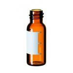 1,5ml Gewindeflasche, Gewinde 8-425, 32 x 11,6mm, Braunglas, 1
