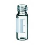 1,5ml Gewindeflasche ND10, 32x11,6mm, Klarglas, 1.hydrol.Klass