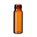 4ml Gewindeflasche 45 x 14,7mm, Braunglas, 1. hydrolytische