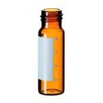 4ml Gewindeflasche, 45 x 14,7mm, Braunglas, 1. hydrolytische K