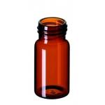 20ml EPA Gewindeflasche, 57x27,5mm, Braunglas, 1. hydrol. Klas