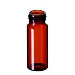 30ml EPA Gewindeflasche, 72,5 x 27,5mm, Braunglas, 1. hydrolyt