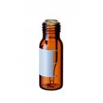 Kurzgewindeflasche mit integriertem 0,2ml Mikroeinsatz, 32 x 1