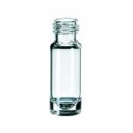 1,1 ml Mikroliter Kurzgewindeflasche ND9, 32 x 11,6mm, Klargla