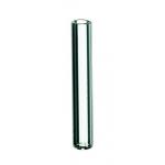 0,1ml Mikroeinsatz, 29 x 5mm, Klarglas, mit Polymerfuß
