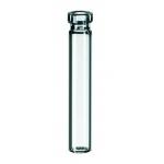 0,6ml Rollrand-Mikroflasche, 40 x 7mm, Klarglas, 1. hydrolytis