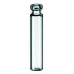 0,8ml Rollrandflasche, 30 x 8,2mm, Klarglas, 1. hydrolytische