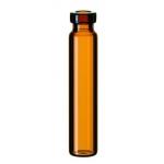 1,2ml Rollrandflasche, 40 x 8,2mm, Klarglas, 1. hydrolytische