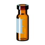 1,5ml Rollrandflasche, 32x11,6mm, Braunglas, 1. hydrol. Klasse