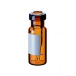 Rollrandflasche mit integriertem 0,2ml Mikroeinsatz, 32 x 11,6