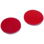 9,5mm Septum, PTFE rot/Silicon weiß/PTFE rot, 45° shore A, 1,0