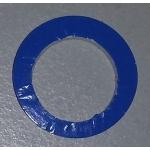 Septum,  Silicon weiß/  PTFE blau / 55 Shore A