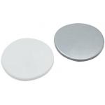 22mm Septum, Silicon weiß/Aluminiumfolie silber, 50° shore A,