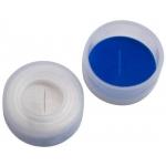 11mm Verschluss  PE Schnappringkappe, transparent, mit Loch;