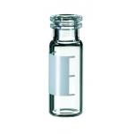1,5ml Schnappringflasche, 32 x 11,6mm, Klarglas, 1. hydrolytis