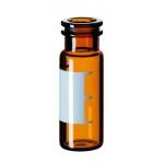 1,5ml Schnappringflasche, 32 x 11,6mm, Braunglas, 1. hydrolyti