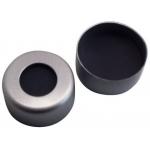 11mm Verschluss: Alu-Bördelkappe, farblos lackiert, Sil/Alu VE=100 Stk., 50° shore A, 1,3mm