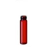 8ml Gewindeflasche, Gewinde 15-425, 61x16,6mm, Braunglas, 1. h