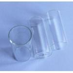Flachbodenglas 48x22mm, Wandstärke 1mm, mit Spezialboden für NIR-Messung, VE=100 Stk.