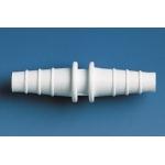 Schlauchverbinder, PP, gerade            f. Schl.-I.-D.  5- 7 mm, L. 52 mm