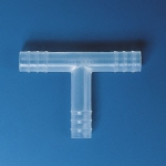 Schlauchverbinder, PP, T-Form            f.Schl.-I.D.  4- 5 mm, Ges.-L. 30 mm