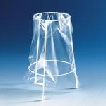 Ständer f. Entsorgungsbeutel Stahldraht  Epoxidharz-besch. kpl.m. 100 Beuteln(PP)