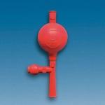 Pipettierball, NR, mit 3 Ventilen        Universalmodell, f. Pipetten bis 100 ml