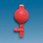 Pipettierball, NR, mit 2 Ventilen        Flip-Modell,     f. Pipetten bis 100 ml