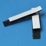 Haftband für Wandhalter, accu-jet pro    12 x 65 mm, 2 Sätze