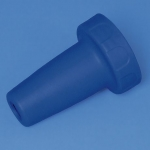 Adaptergehäuse, PP, für accu-jet pro     königsblau