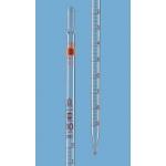 Wattestopfpip. BB-ET AS Typ 3 0-Pkt.oben  1 ml:0,01 ml, völliger Ablauf, DE-M