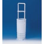 Pipettenkorb, PE-HD, mit Griff           für Pipettenlänge 460 mm