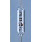 Vollpipette, 25 ml,  BLAUBRAND-ETERNA, AS, DE-M  25 ml, 1 Marke, AR-Glas