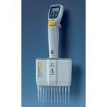Transferpette® -12 electronic, 0,5-10 µl, mit Netzteil Europa (Kontinent) 230 V/50 Hz 0,5-10 µl