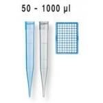 PipSpitzen pal.DNA-/RNase-frei DE-M IVD  TipRack  50  -1000 µl, unsteril, VE=960