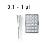 PipSpitzen pal. DNA-/RNase-frei DE-M IVD TipBox 0,1-  20 µl BIO-CERT VE=960