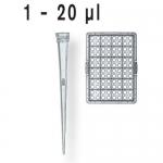 PipSpitzen ULR pal.DNA-/RNase-frei DE-M  TipBox 1 -  50 µl unsteril IVD VE=480