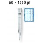 Filterspitzen, pal., DNA-, RNase-frei    TipRack 50 -1000 µl, BIO-CERT, VE = 960