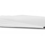 Qualitativ-technische Papiere, glatt/ Sorte 4 b Farbe: Weiß Innenraummaße (BxTxH): 110 mm × 580 mm