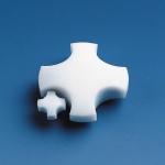 Magnetrührstäbchen, PTFE                 D.  9 mm, H.  6 mm, scheibenförmig