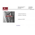 Zusätzliche Thermobleche aus  Edelstahl W.-St. 1.4404, ASTM