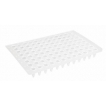 96-well PCR-Platten, ohne Rand, niedriges Profil VPE= 100 Stk.
